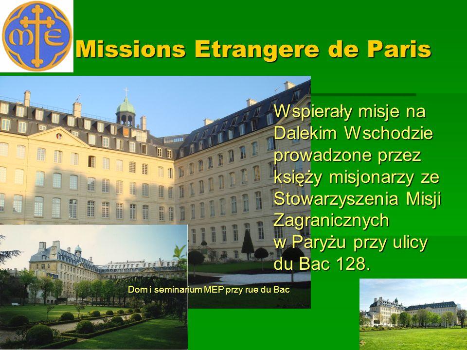 Missions Etrangere de Paris