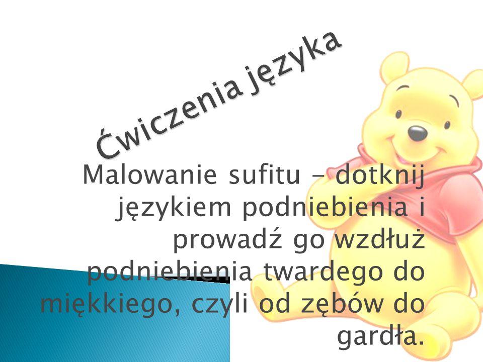 Ćwiczenia języka
