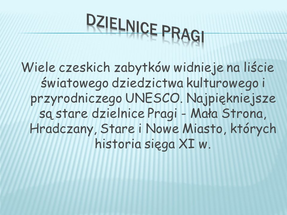 Dzielnice Pragi