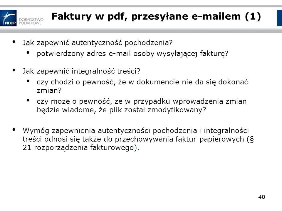 Faktury w pdf, przesyłane e-mailem (1)