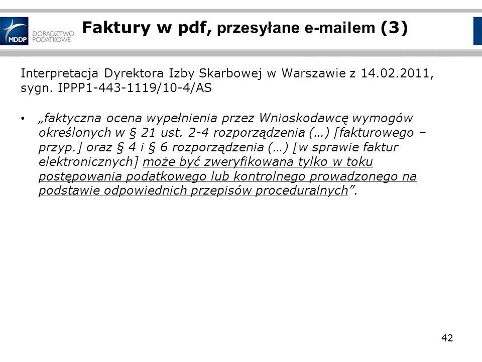 Faktury w pdf, przesyłane e-mailem (3)