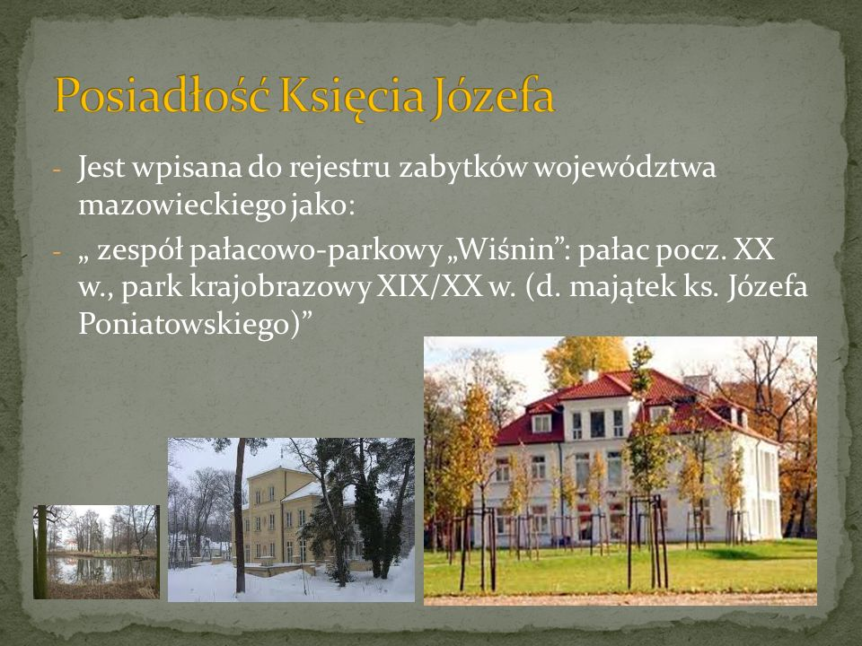 Posiadłość Księcia Józefa