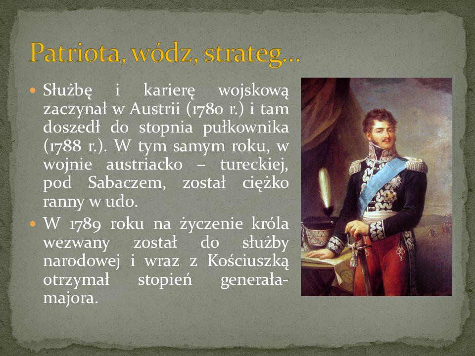 Patriota, wódz, strateg…