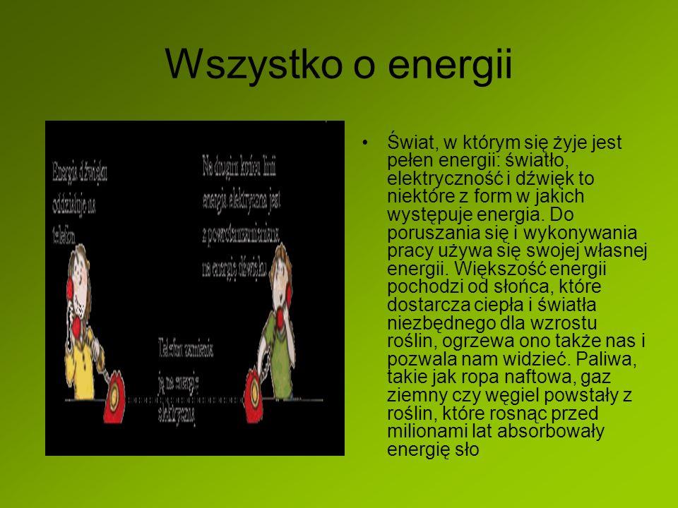 Wszystko o energii