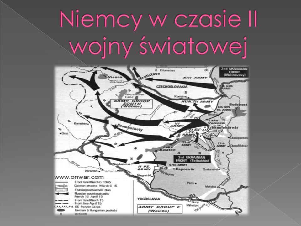 Niemcy w czasie II wojny światowej