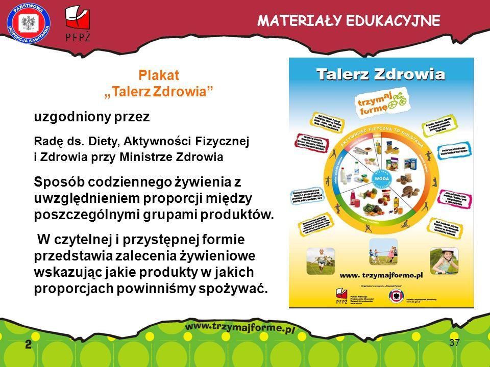 """Plakat """"Talerz Zdrowia"""