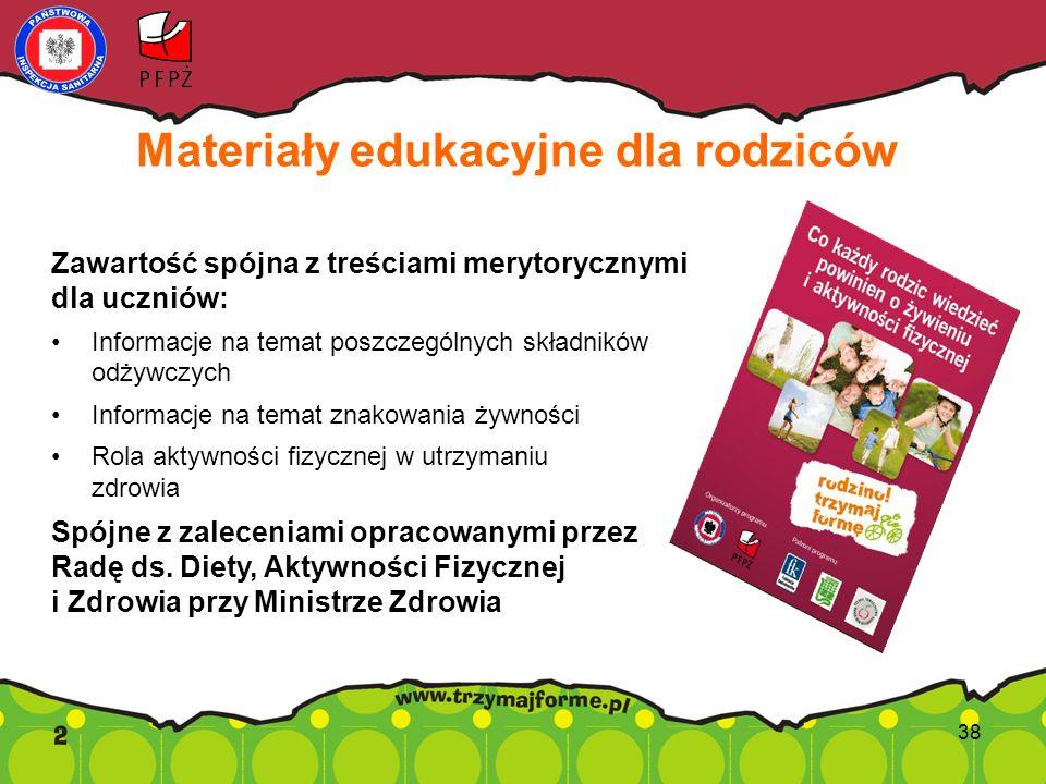 Materiały edukacyjne dla rodziców