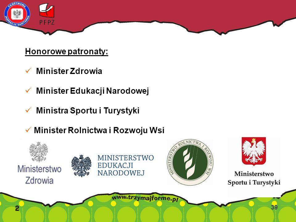 Minister Edukacji Narodowej Ministra Sportu i Turystyki