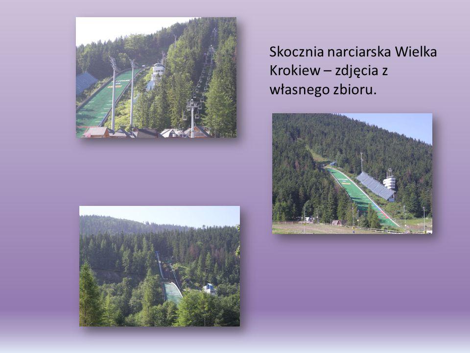 Skocznia narciarska Wielka Krokiew – zdjęcia z własnego zbioru.