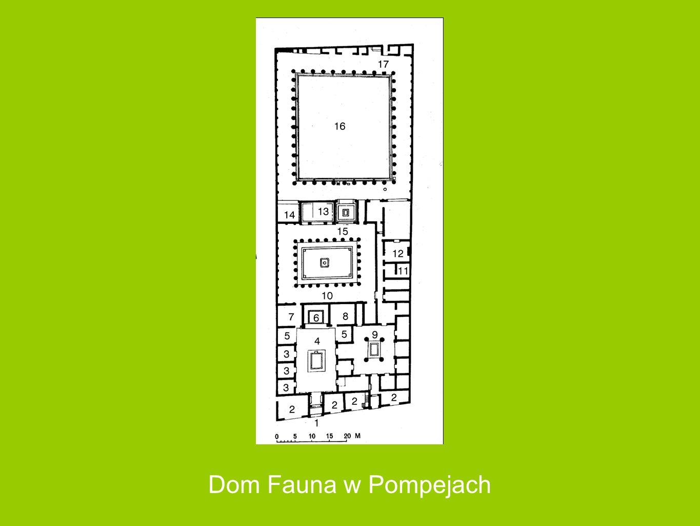 Dom Fauna w Pompejach