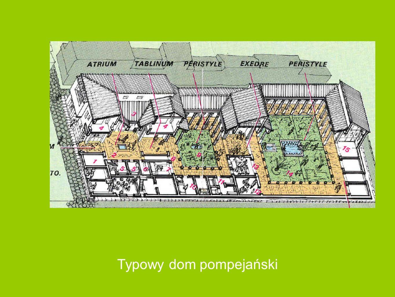 Typowy dom pompejański