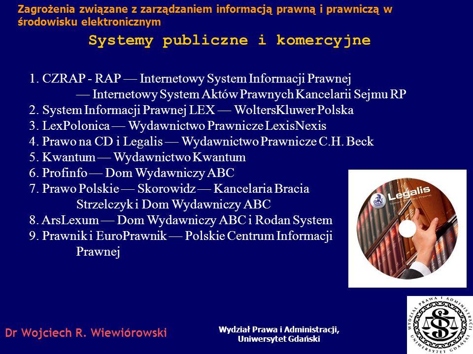 Systemy publiczne i komercyjne