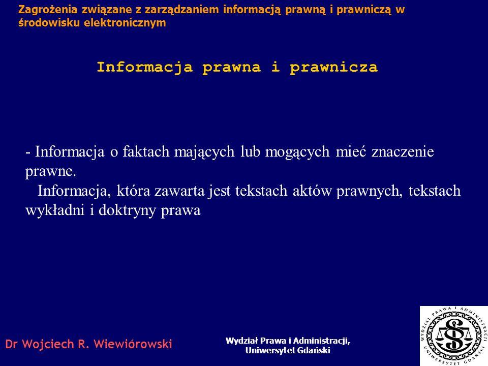 Informacja prawna i prawnicza