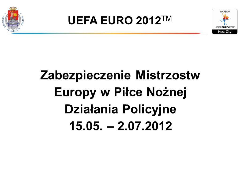 Zabezpieczenie Mistrzostw Europy w Piłce Nożnej