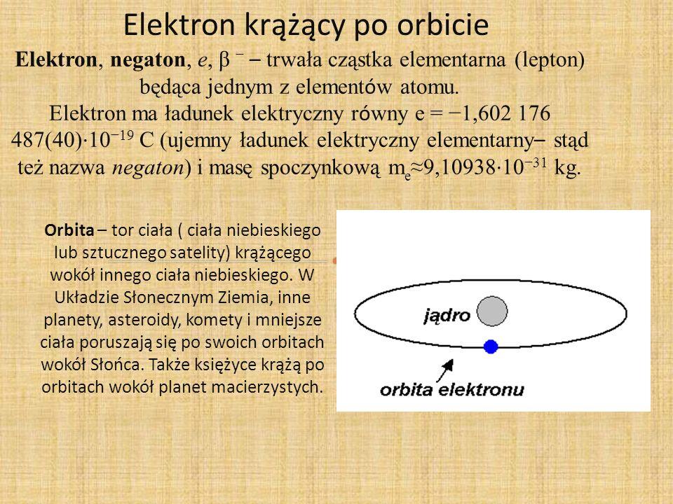 Elektron krążący po orbicie