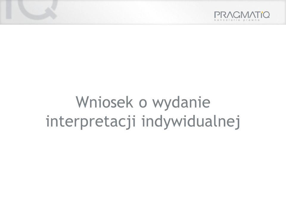 interpretacji indywidualnej