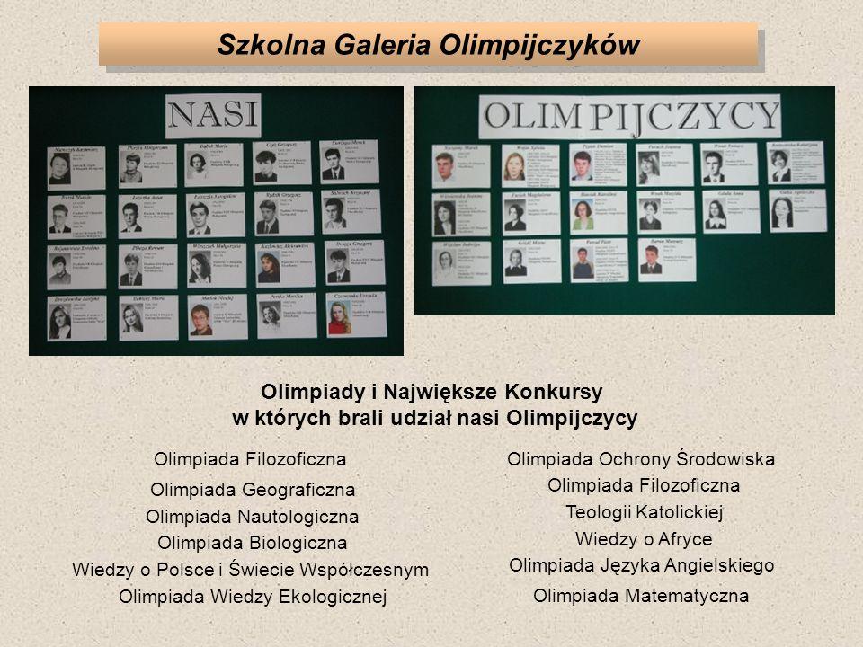 Szkolna Galeria Olimpijczyków