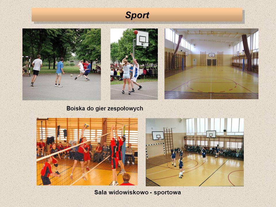 Boiska do gier zespołowych Sala widowiskowo - sportowa
