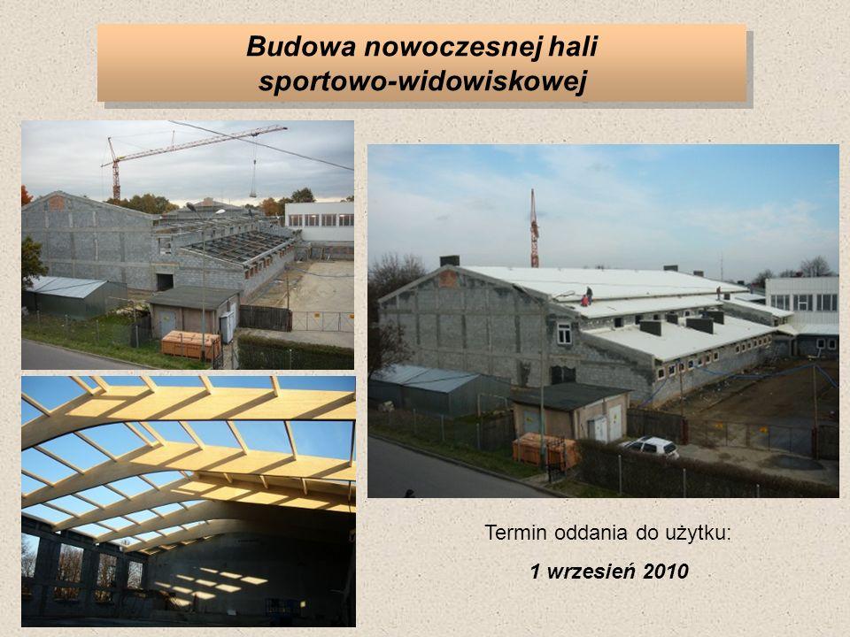 Budowa nowoczesnej hali sportowo-widowiskowej