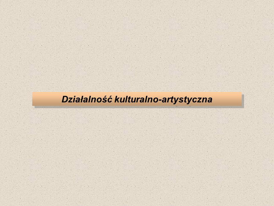 Działalność kulturalno-artystyczna