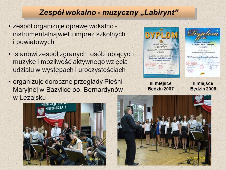 """Zespół wokalno - muzyczny """"Labirynt"""