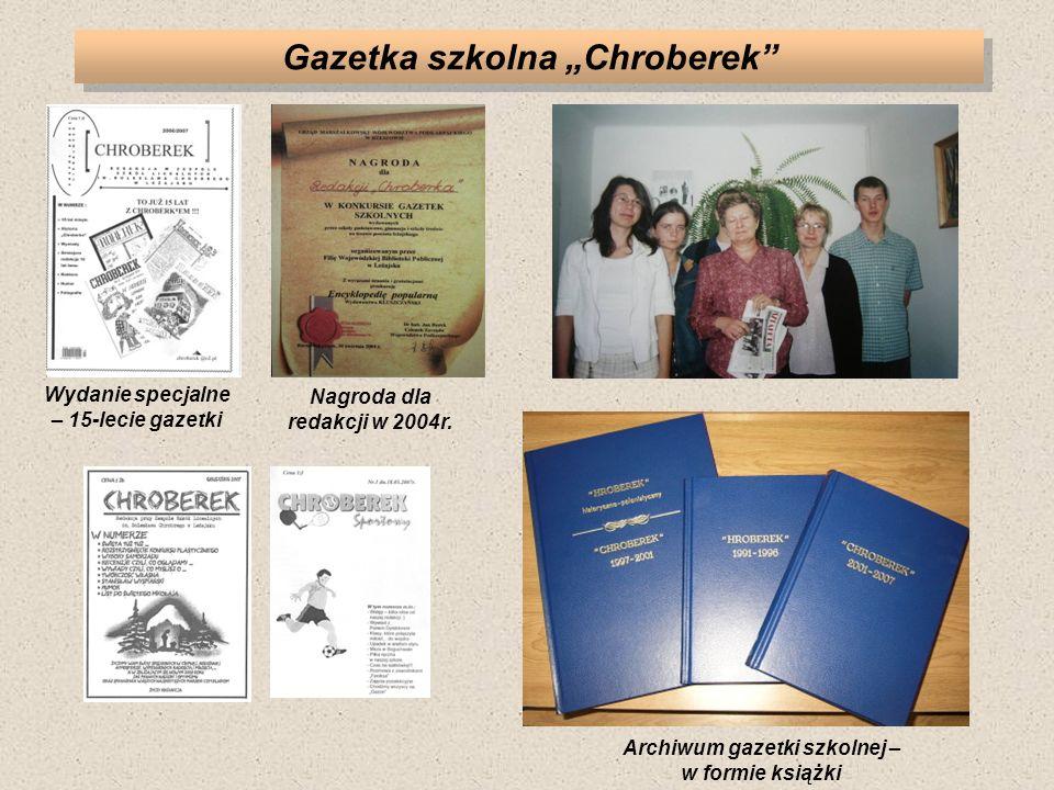 "Gazetka szkolna ""Chroberek"