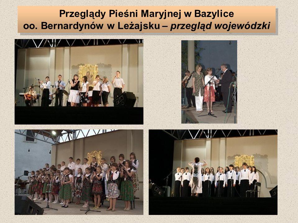 Przeglądy Pieśni Maryjnej w Bazylice oo