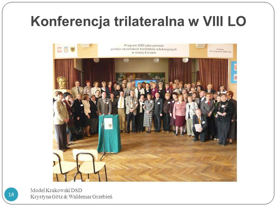Konferencja trilateralna w VIII LO