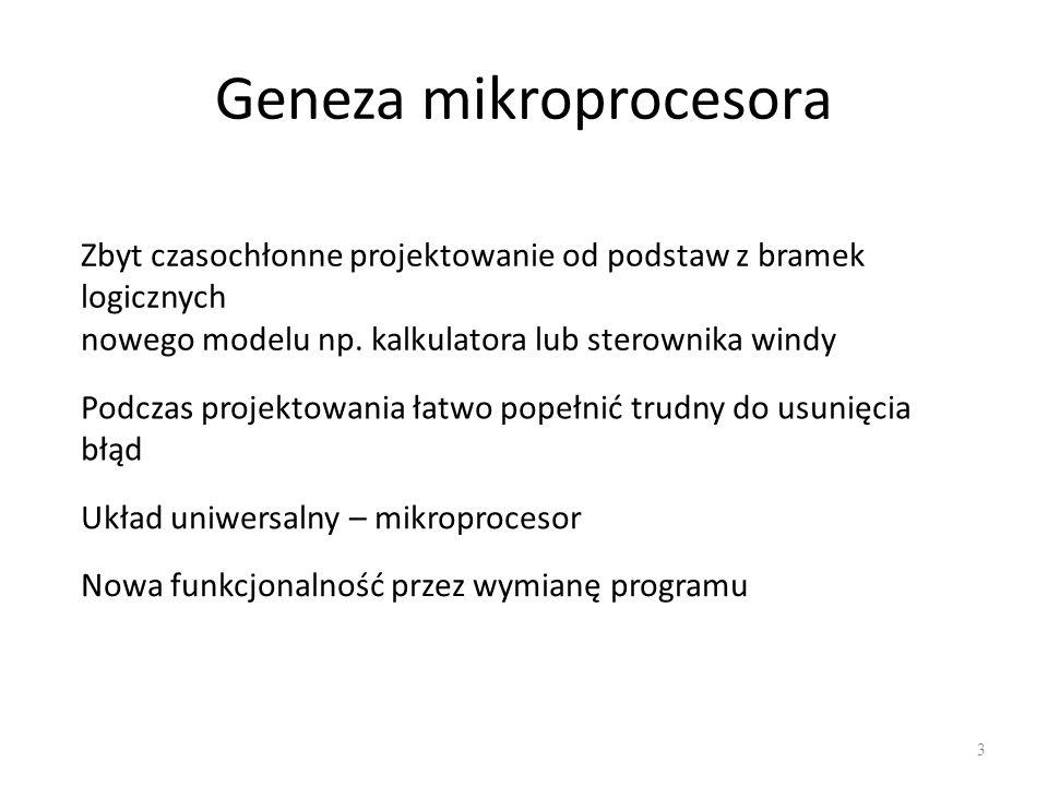 Geneza mikroprocesora
