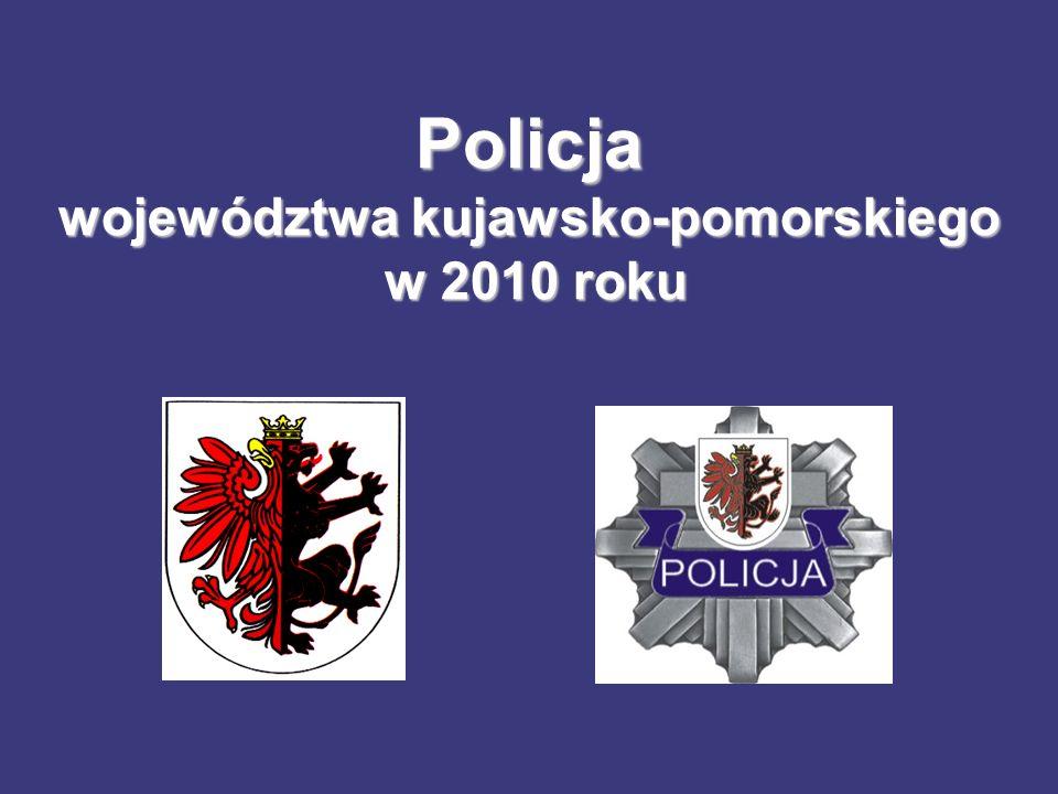 Policja województwa kujawsko-pomorskiego w 2010 roku