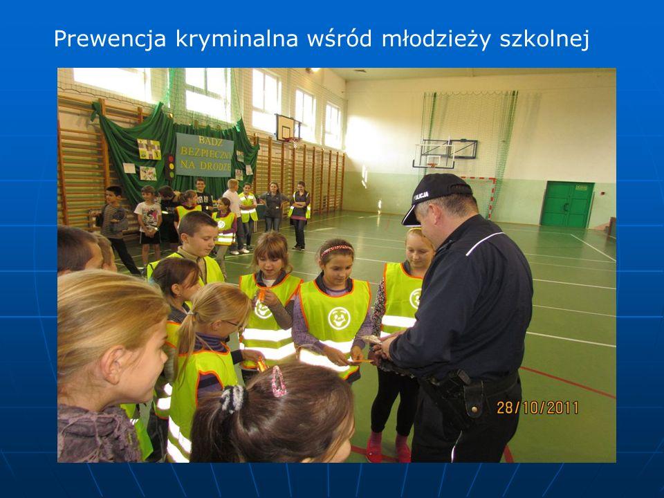 Prewencja kryminalna wśród młodzieży szkolnej