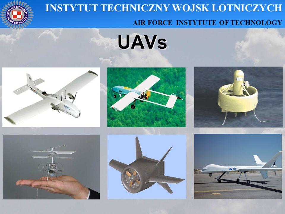 UAVs INSTYTUT TECHNICZNY WOJSK LOTNICZYCH