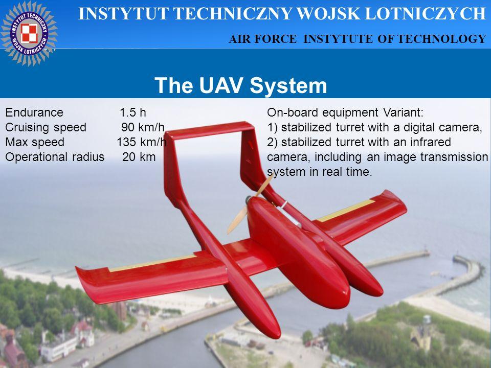 The UAV System INSTYTUT TECHNICZNY WOJSK LOTNICZYCH