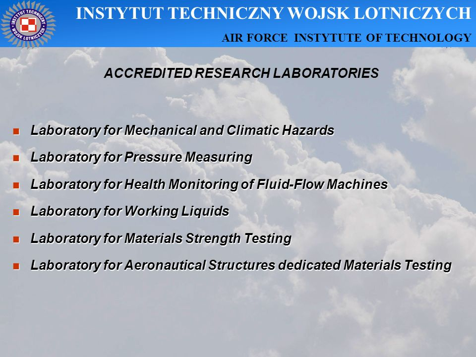ACCREDITED RESEARCH LABORATORIES