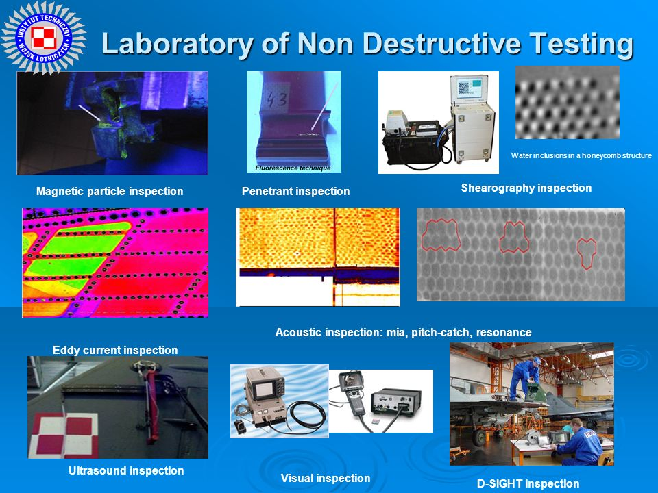 Laboratory of Non Destructive Testing