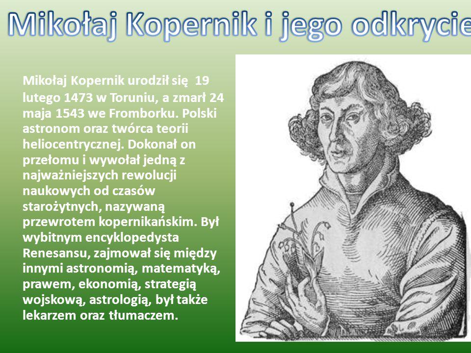 Mikołaj Kopernik i jego odkrycie