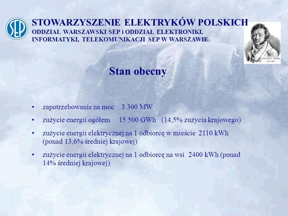 Stan obecny STOWARZYSZENIE ELEKTRYKÓW POLSKICH