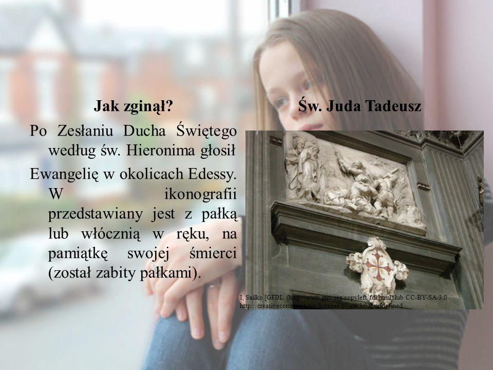 Jak zginął Św. Juda Tadeusz