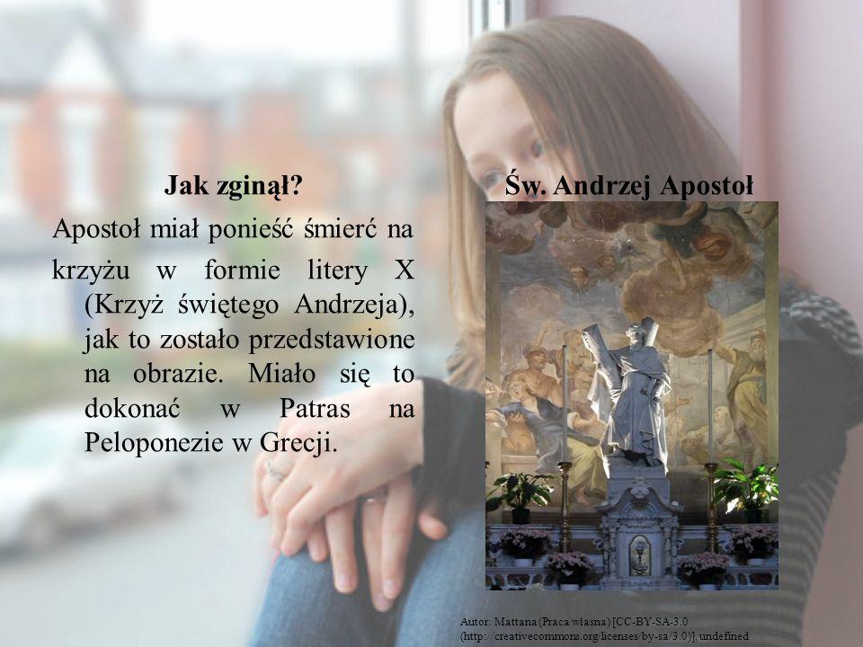 Jak zginął Św. Andrzej Apostoł
