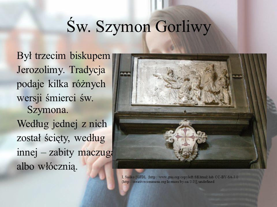 Św. Szymon Gorliwy