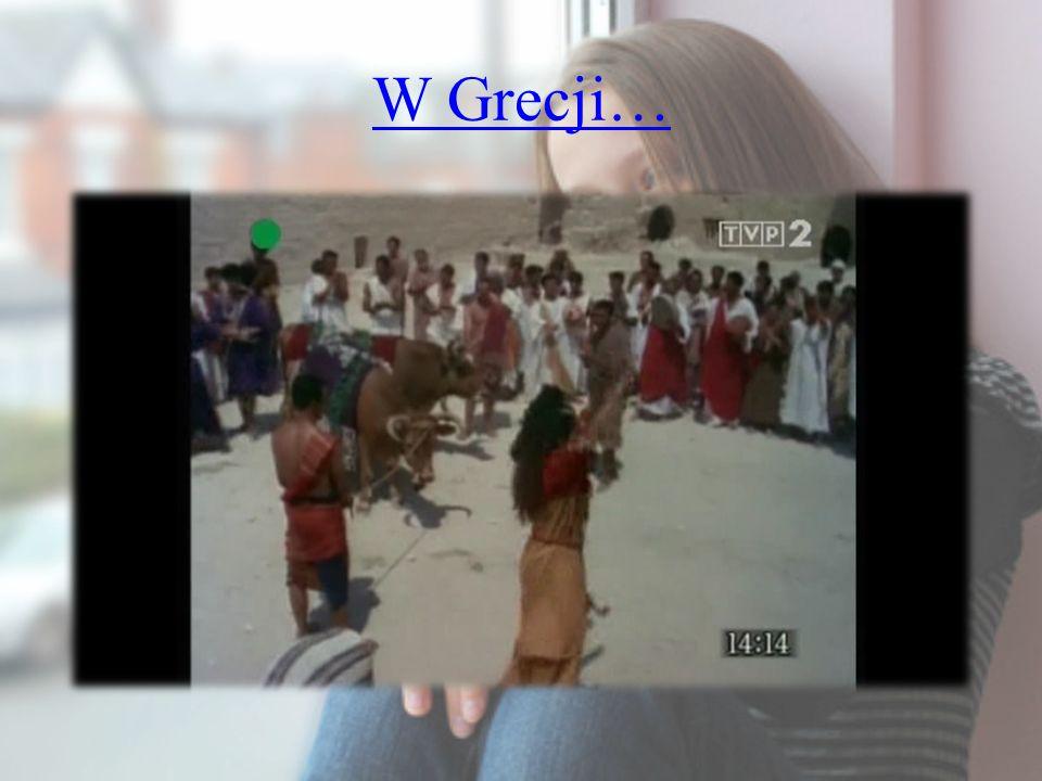 W Grecji…