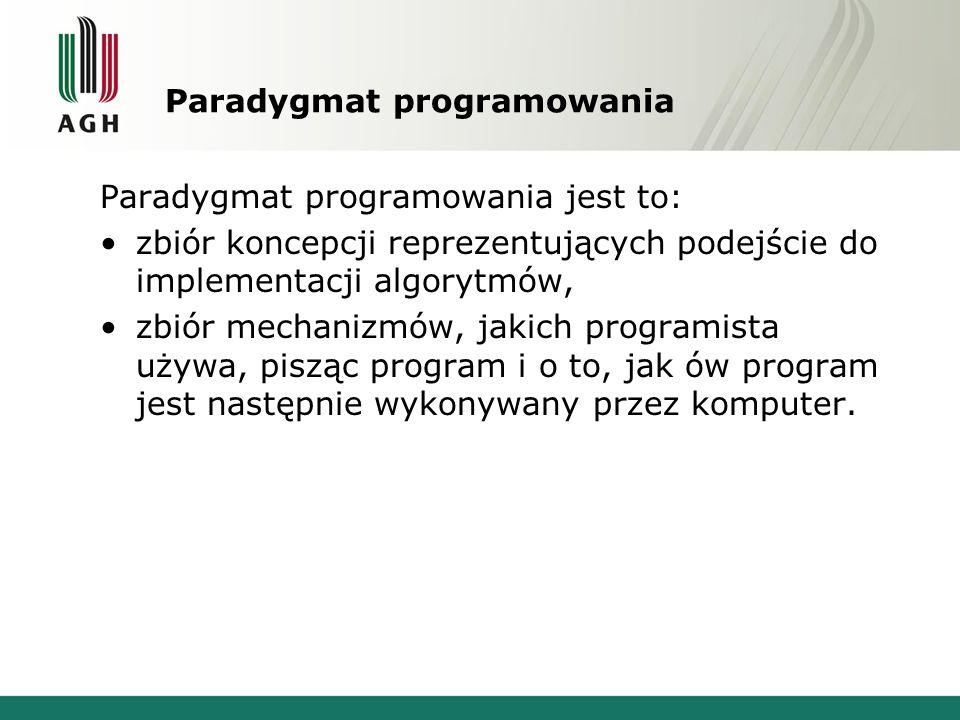 Paradygmat programowania