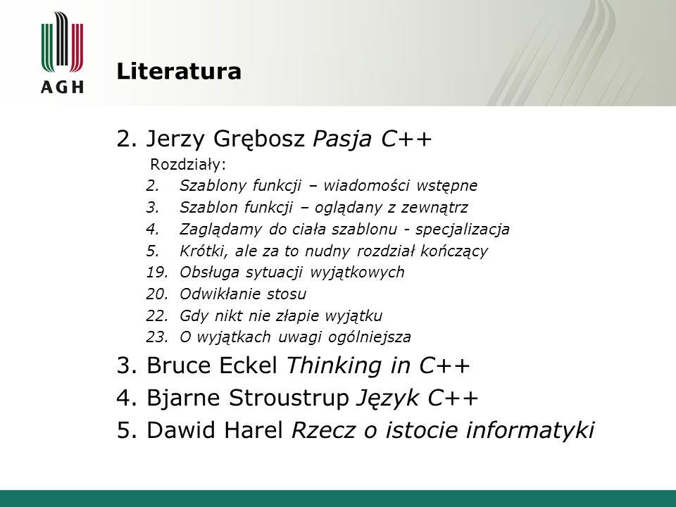 2. Jerzy Grębosz Pasja C++