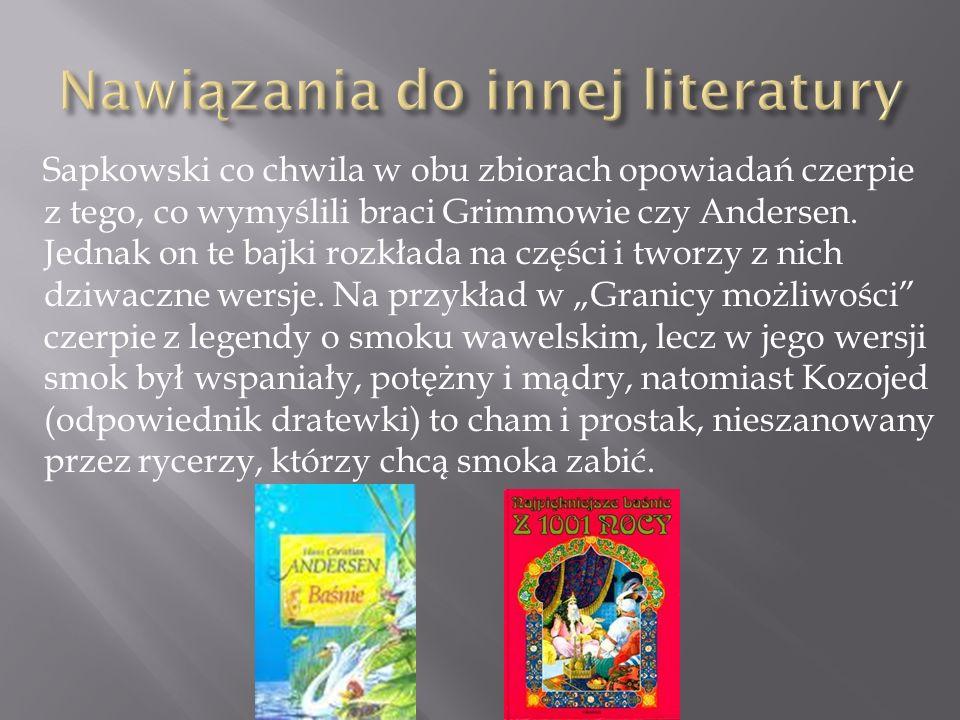 Nawiązania do innej literatury
