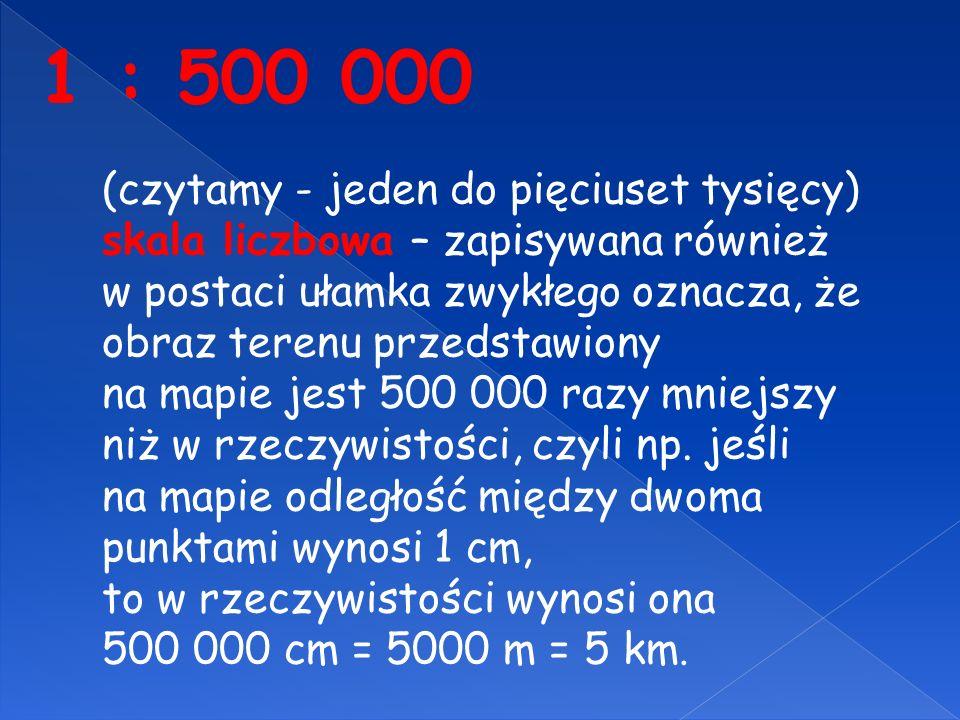 1 : 500 000