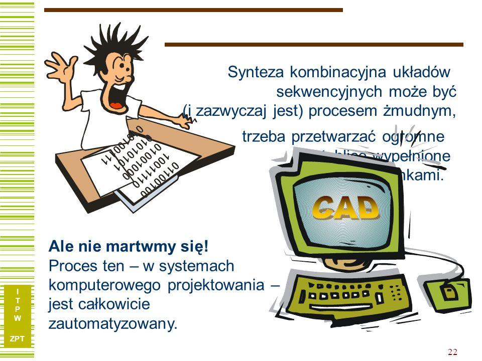 CAD Nie martwmy się ... Synteza kombinacyjna układów