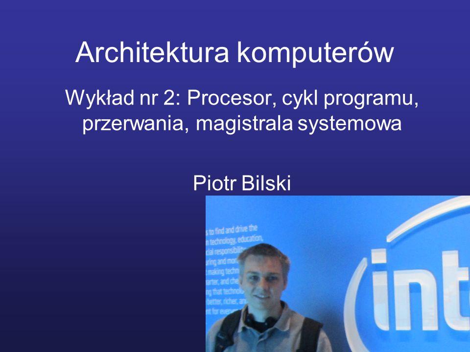 Architektura komputerów
