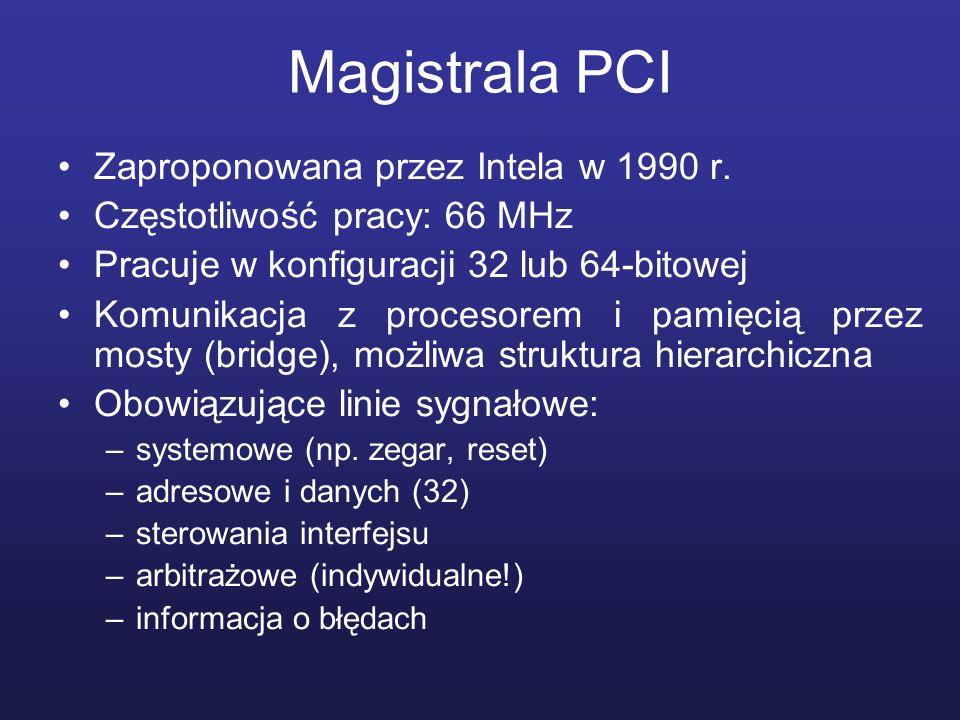 Magistrala PCI Zaproponowana przez Intela w 1990 r.