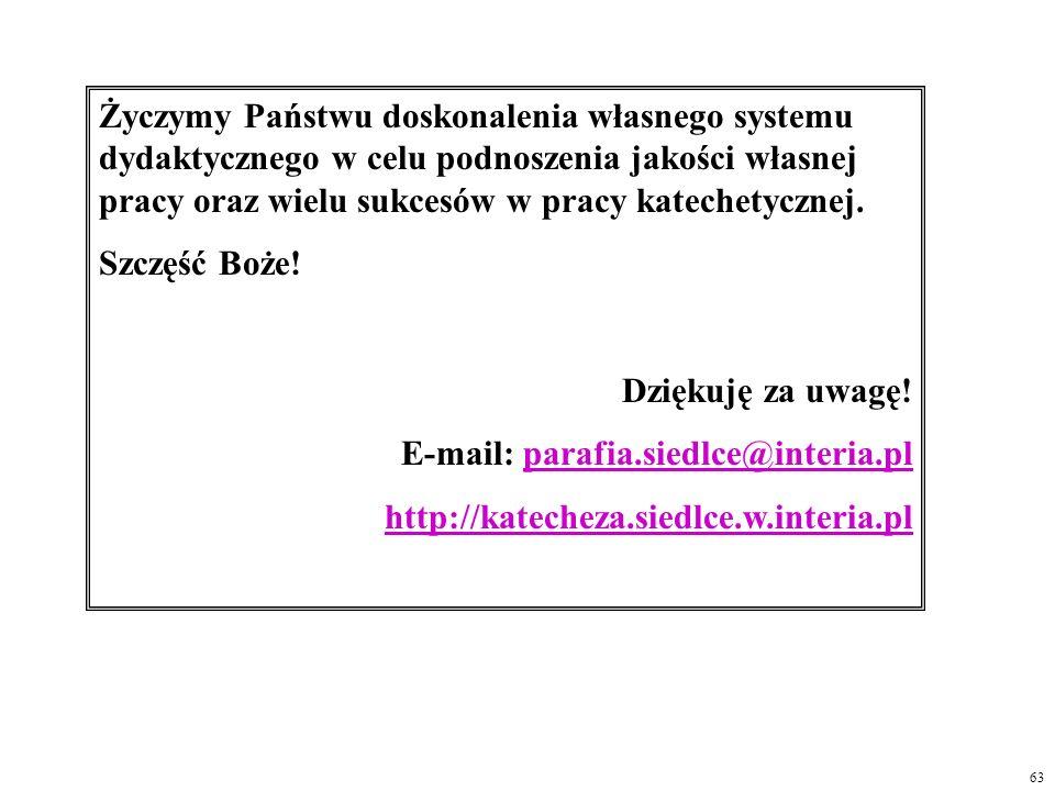 E-mail: parafia.siedlce@interia.pl