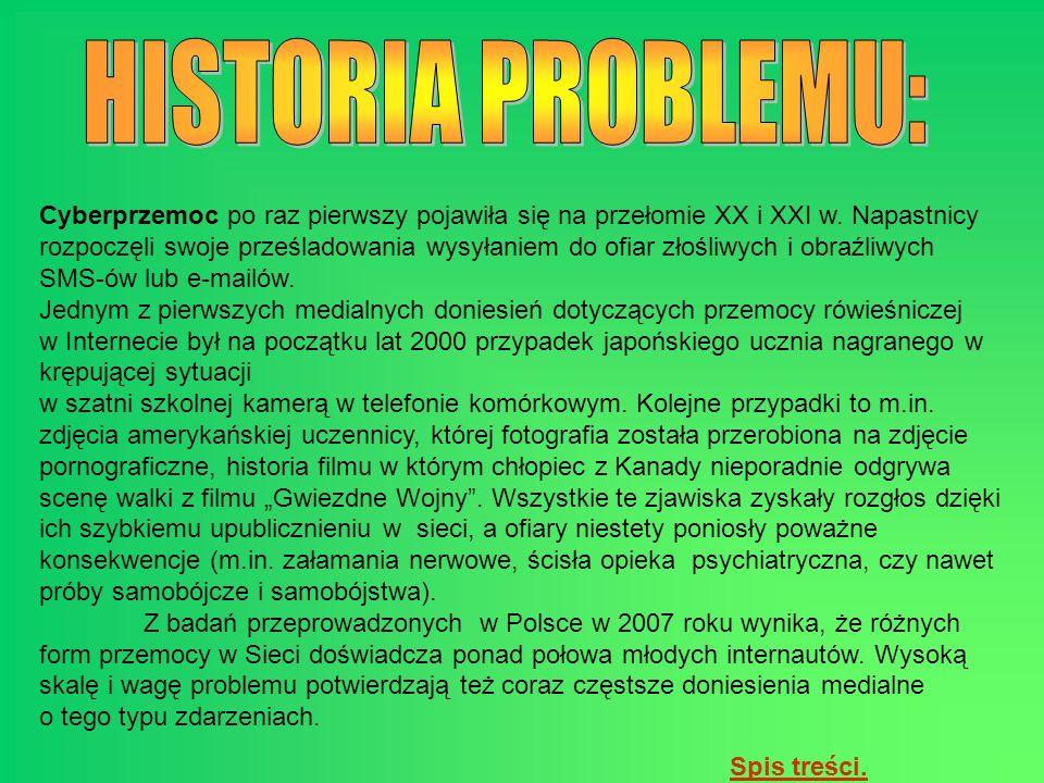 HISTORIA PROBLEMU: